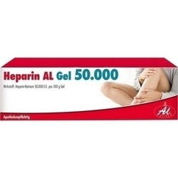 HEPARIN AL GEL 50000